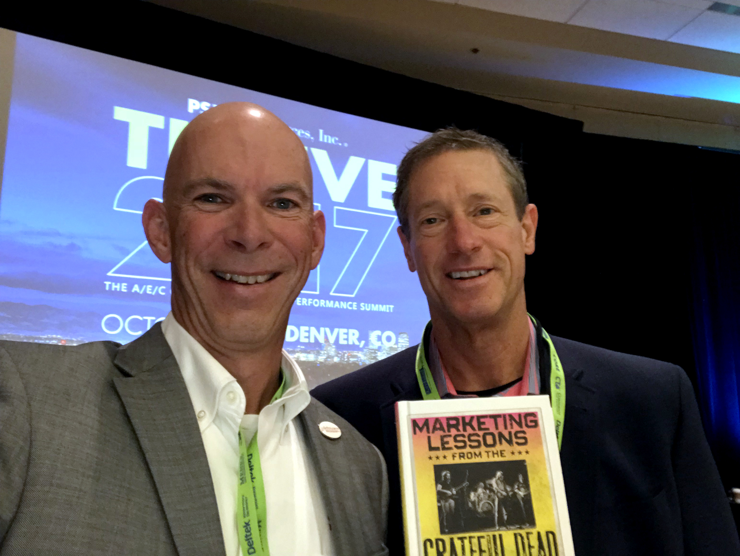 Kevin Carpenter with David Meerman Scott - Thrive 2017