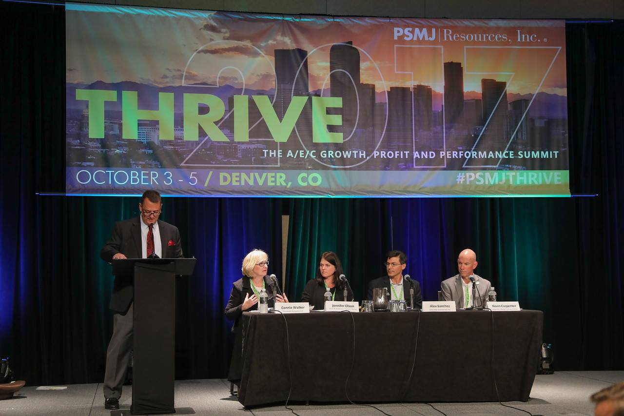 PSMJ Profile of Excellence Panel - Thrive 2017